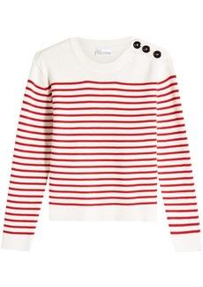 RED Valentino Sailor Stripe Cotton Pullover
