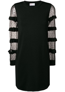 RED Valentino see through dress