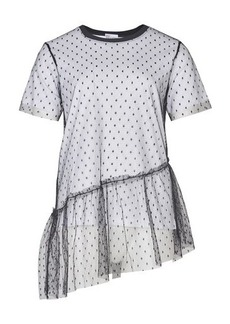 RED Valentino See Through lace T-Shirt