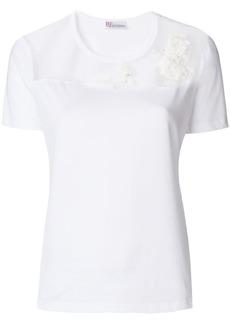RED Valentino sheer panel T-shirt