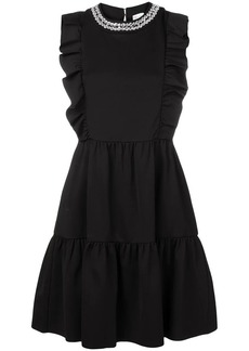 RED Valentino sleeveless ruffled dress