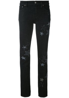 RED Valentino star embroidered jeans