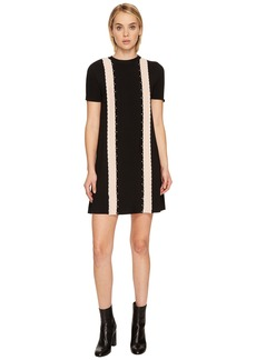 RED Valentino Stretch Viscose Yarn Dress