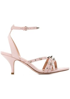 RED Valentino stud strap sandals