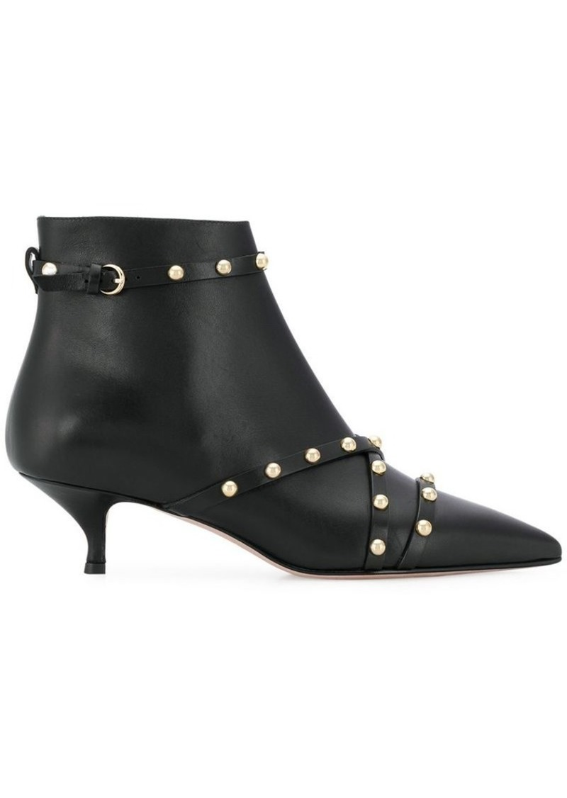 2c4d6cd8d6e RED(V) studded ankle boots