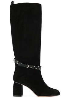 RED Valentino RED(V) studded ankle strap boots