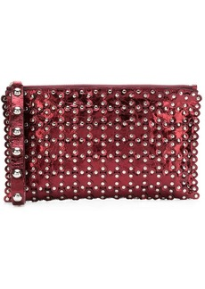 RED Valentino studded clutch bag