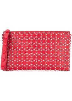RED Valentino RED(V) studded floral clutch