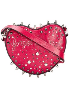 RED Valentino RED(V) studded heart crossbody bag