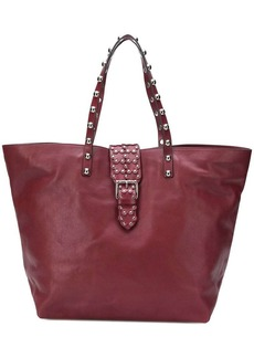 RED Valentino RED(V) studded oversized tote