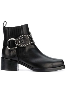 RED Valentino RED(V) studded strap ankle boots