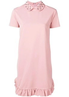 RED Valentino studded T-shirt dress