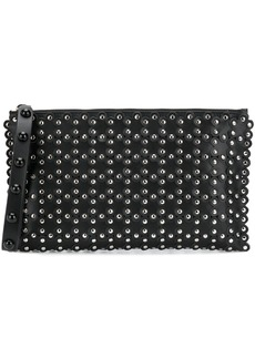 RED Valentino RED(V) studded zipped clutch