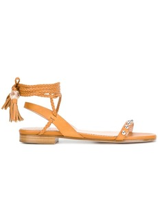 RED Valentino tie around sandals