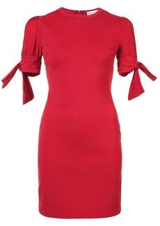 RED Valentino tied-sleeve mini dress
