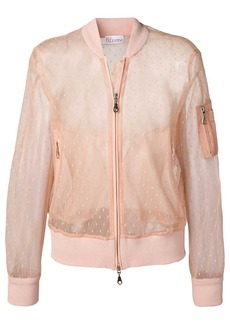 RED Valentino tulle bomber jacket
