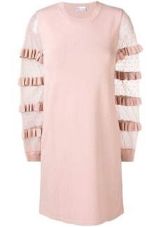 RED Valentino tulle sleeved dress