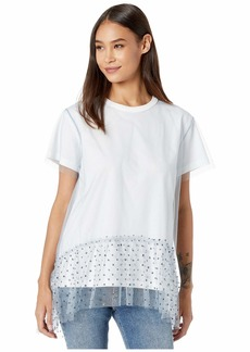 RED Valentino Tulle T-Shirt
