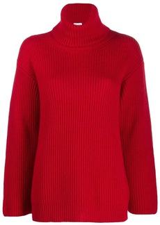 RED Valentino turtleneck knitted jumper