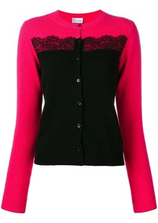 RED Valentino two-tone cardigan