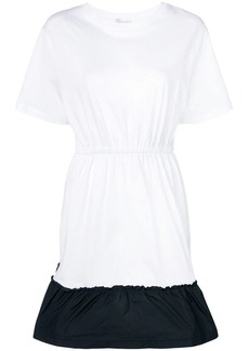 RED Valentino two-tone T-shirt dress