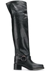 RED Valentino Valentino Garavani square toe boots