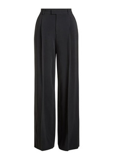 RED Valentino Wide-Leg Crepe Pants