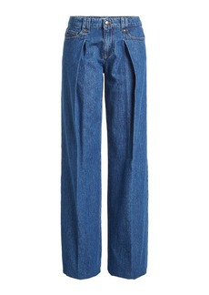 RED Valentino Wide-Leg Jeans