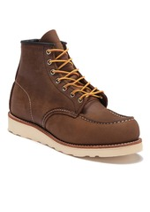 Red Wing 6-Inch Moc Toe Leather Boot