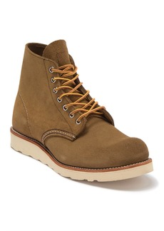 Red Wing 6-Inch Round Toe Leather Boot
