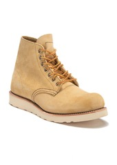 "Red Wing 6"" Round Suede Lace Boot"