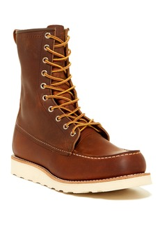 Red Wing 8 Inch Moc Toe Leather Boot - Factory Second