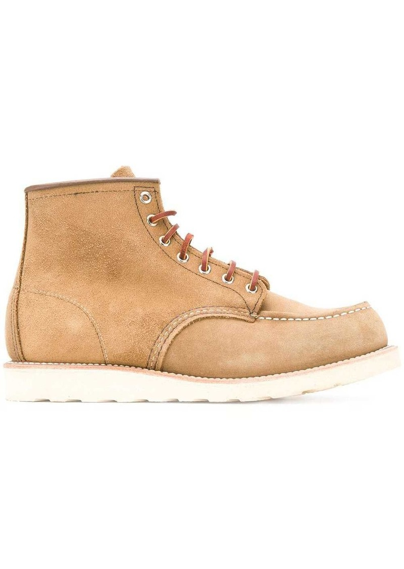 Red Wing 8881 6'' Classic Moc Toe Olive Mohave boots