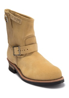 Red Wing Engineer Buckle Suede Boot