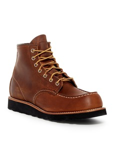 Red Wing Moc Lace-Up Leather Boot - Factory Second - Wide Width Available