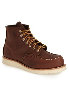 Red Wing 6 Inch Moc Toe Boot (Nordstrom Exclusive) (Men)