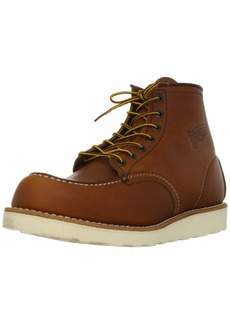 "Red Wing Heritage Men's 6"" Classic Moc Toe Boot  8.5 M US"