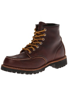 Red Wing Heritage Men's Six-Inch Moc Toe Lug Boot
