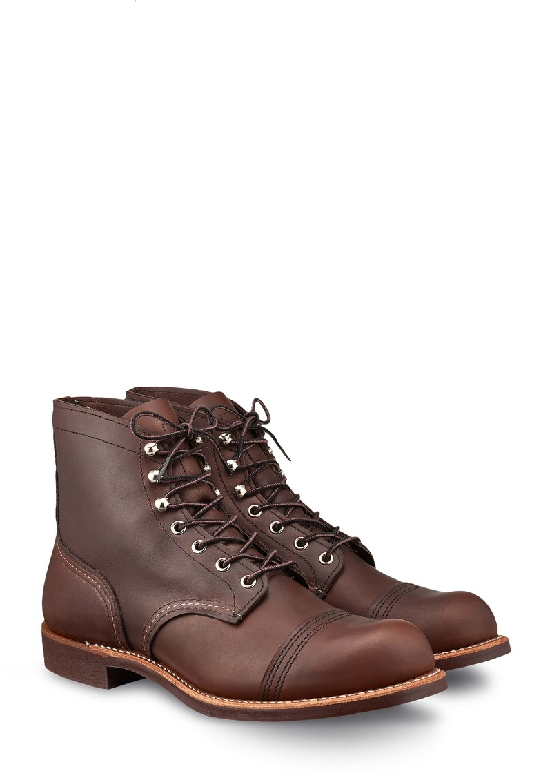 Red Wing Iron Ranger Cap Toe Boot (Men)