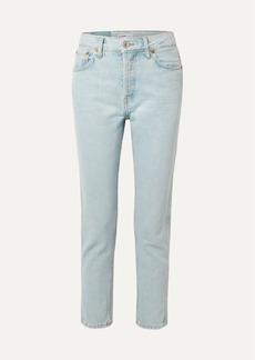 Re/Done 50s Cigarette High-rise Slim-leg Jeans