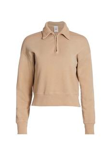 Re/Done 70s Half-Zip Sweatshirt