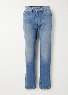 Re/Done '70s High-rise Straight-leg Jeans