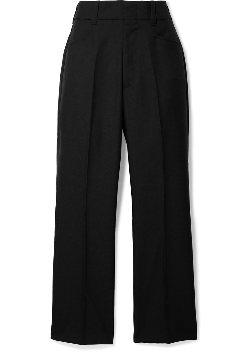 Re/Done 70s Twill Wide-leg Pants