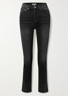 Re/Done 80s High-rise Slim-leg Jeans