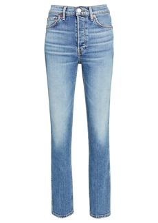 Re/Done 80s Slim Straight-Leg Jeans