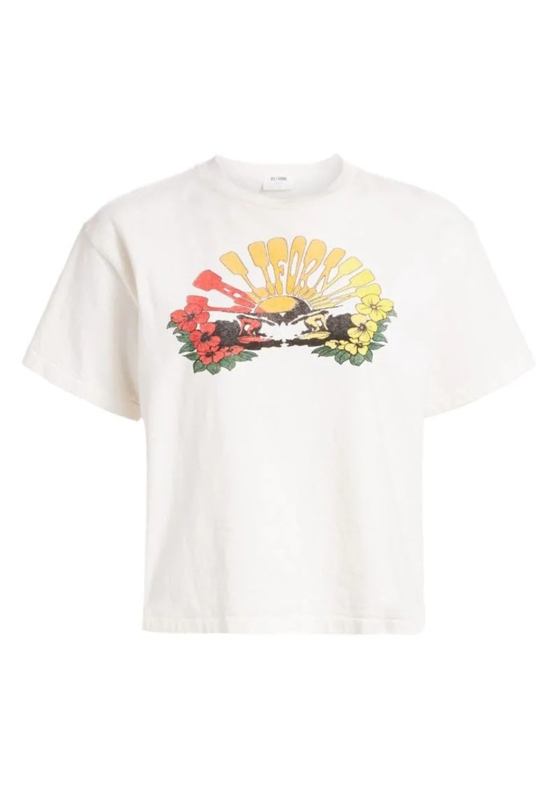 Re/Done 90s Oversize Tee