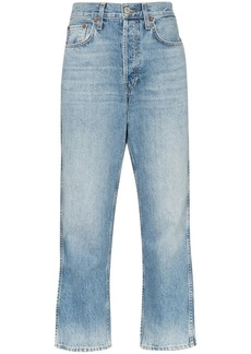 Re/Done '90s straight-leg jeans