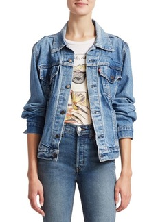 Re/Done Corset Denim Jacket