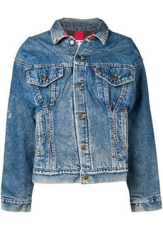 Re/Done Corset denim jacket