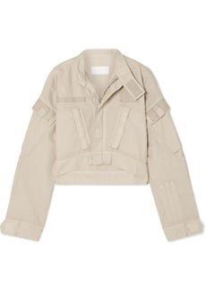 Re/Done Cropped Cotton-ripstop Jacket